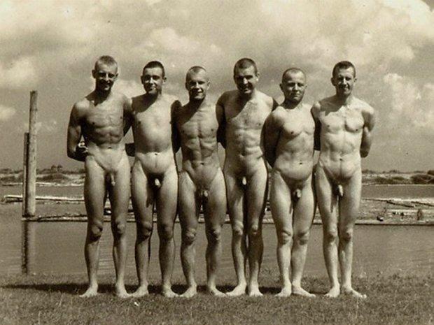 Фото ретро голых людей 85989 фотография